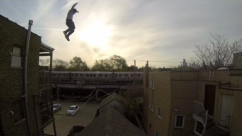 There Has to be Some Visual Trickery in This Unreal Roof Jump