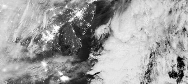 NASA Satellite Photos Compare Before and After Sandy