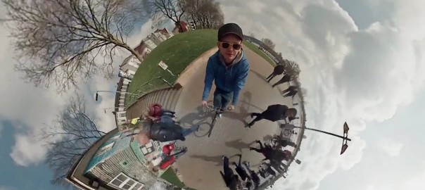 Spherical Panoramic Bike Ride Will Blow Your Mind